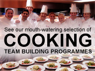 Cooking Team Building Programmes
